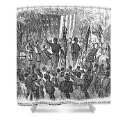 Emancipation, 1863 Shower Curtain by Granger
