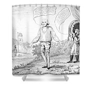 Embargo Repeal, 1809 Shower Curtain
