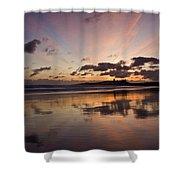 Embleton Bay Sunrise Shower Curtain
