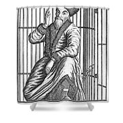 Emelyan Ivanovich Pugachev Shower Curtain