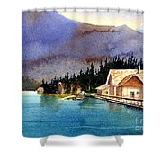 Emerald Lake Lodge B.c Shower Curtain