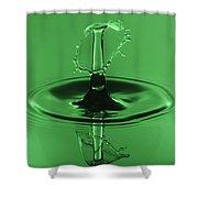 Emerald Umbrella Shower Curtain