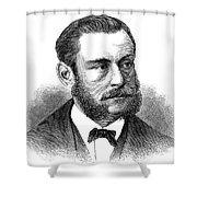 Emil Schumann Shower Curtain