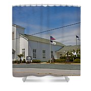 Emma Anderson Memorial Chapel Shower Curtain