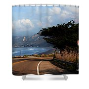 Emma Wood State Beach California Shower Curtain