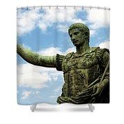Emperor Caesar Augustus Shower Curtain