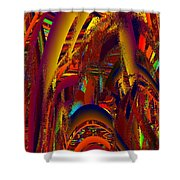Emperors Garden Shower Curtain