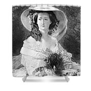 Empress Eugenie Of France Shower Curtain