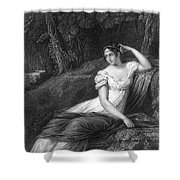 Empress Josephine Shower Curtain