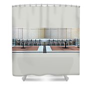 Study In Symmetry  Shower Curtain