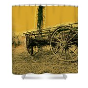 Empty Dreams Shower Curtain