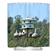 Empty Nests Shower Curtain