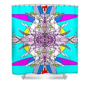 Emulsification Shower Curtain