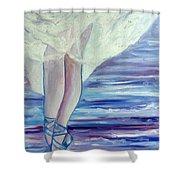 En Pointe Shower Curtain