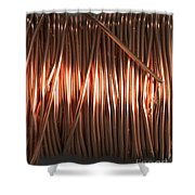 Enamel Coated Copper Wire Shower Curtain