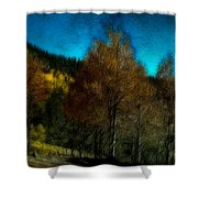 Enchanted Evening In The Forest Shower Curtain