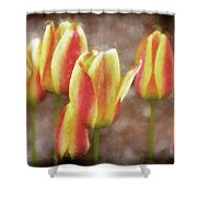 Enchanting Muted Shower Curtain