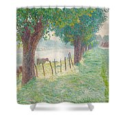 End Of August Shower Curtain