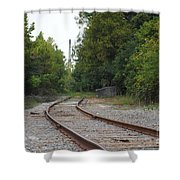 End Of The Rail Shower Curtain