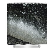 End Of The Waterfall Shower Curtain