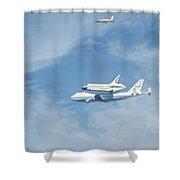 Endeavour's Final Flight Shower Curtain