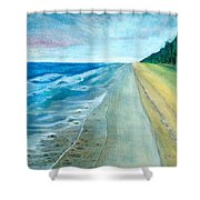 Endless Beach Shower Curtain