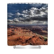 Endless Canyons Shower Curtain