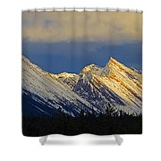 Endless Chain Ridge, Icefields Parkway Shower Curtain