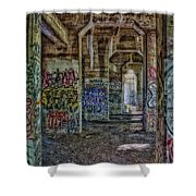 Endless Graffiti Shower Curtain