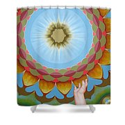 Enfant Soleil Shower Curtain