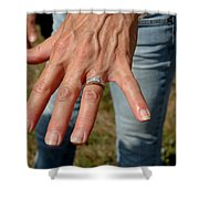 Engaged Shower Curtain