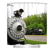 Engine 208 Shower Curtain
