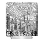 England - Royal Ball 1848 Shower Curtain