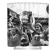 England: Fa Cup, 1977 Shower Curtain
