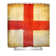 England Flag Shower Curtain