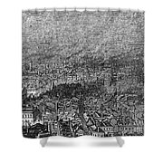 England: Manchester, 1876 Shower Curtain