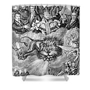 England: Reform, 1830 Shower Curtain by Granger