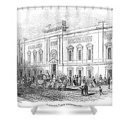 England: Theatre, 1843 Shower Curtain