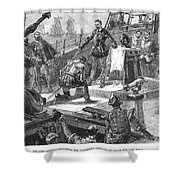 England: Victory, 1588 Shower Curtain by Granger
