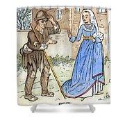 English Beggar, 1330 Shower Curtain