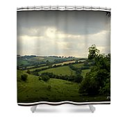 English Countryside Shower Curtain