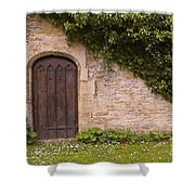 English Door And Ivy Shower Curtain
