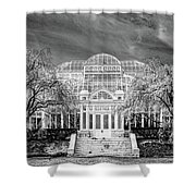 Enid A Haupt Conservatory  Shower Curtain