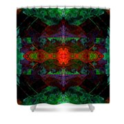 Enigma 7 Shower Curtain