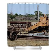 Enjoying Retirement Shower Curtain