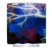 Enlightened Shower Curtain