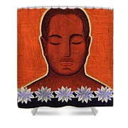 Enlightenment Shower Curtain
