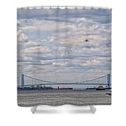 Enterprise 3 Shower Curtain