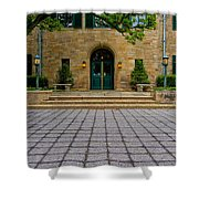 Entrance Squared Shower Curtain