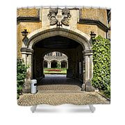 Entrance To Cecilienhof Palace Shower Curtain